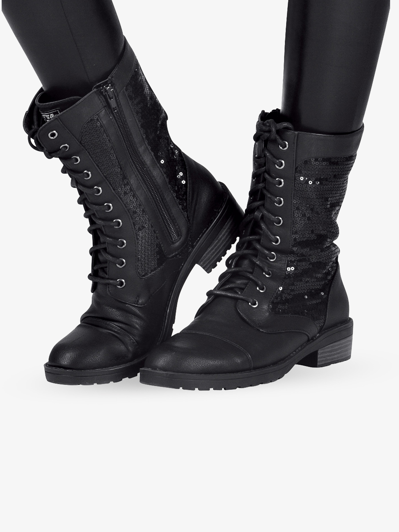 Double Platinum Adult Combat Boot SWAG