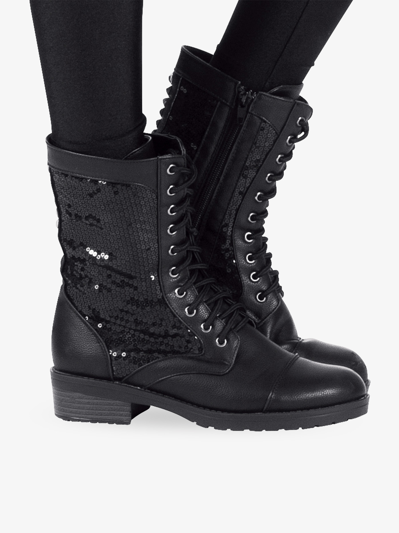 Double Platinum Girls Combat Boot SWAGC