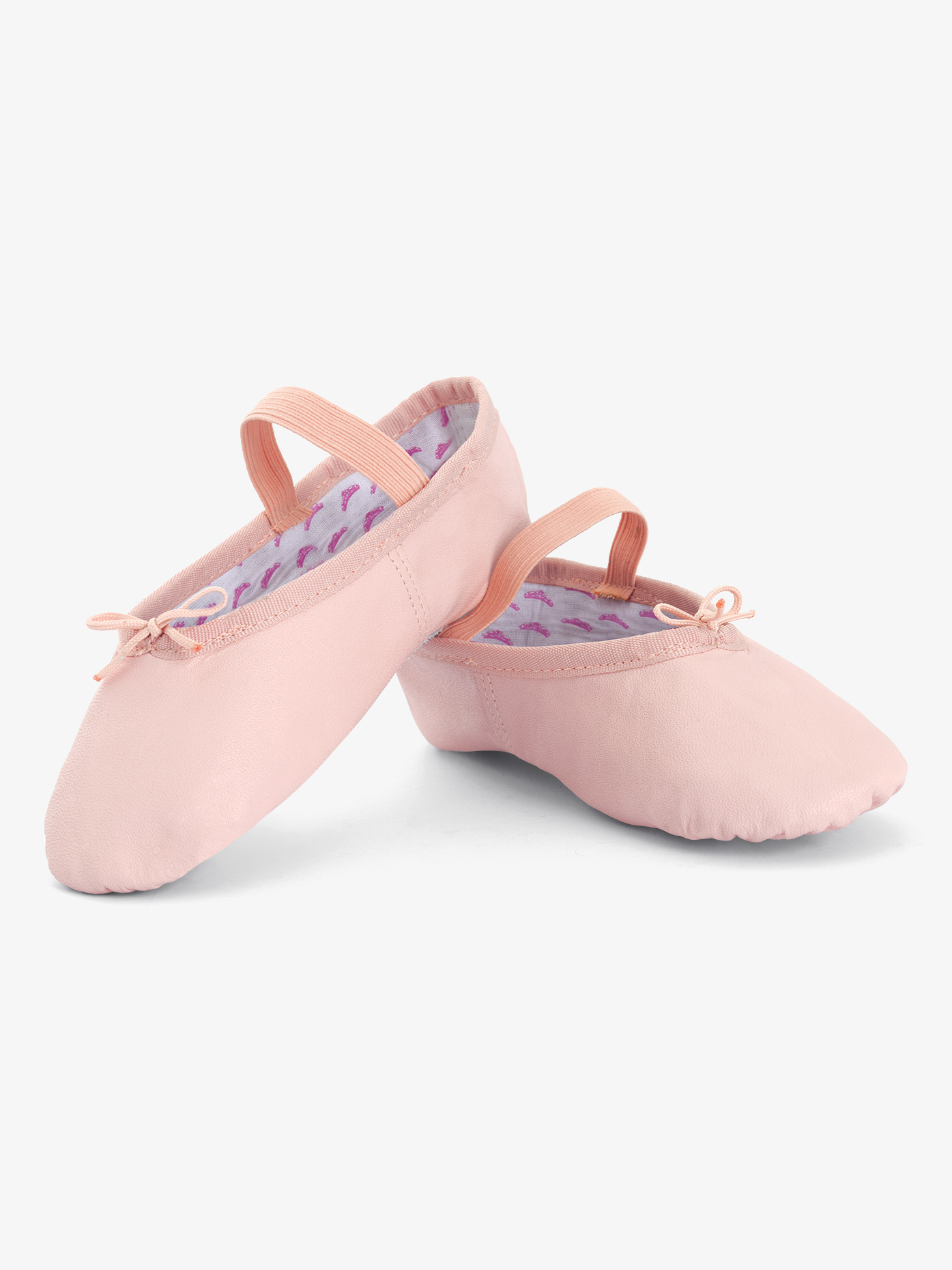 Theatricals Girls Princess Full Sole Leather Ballet Shoes T1015C