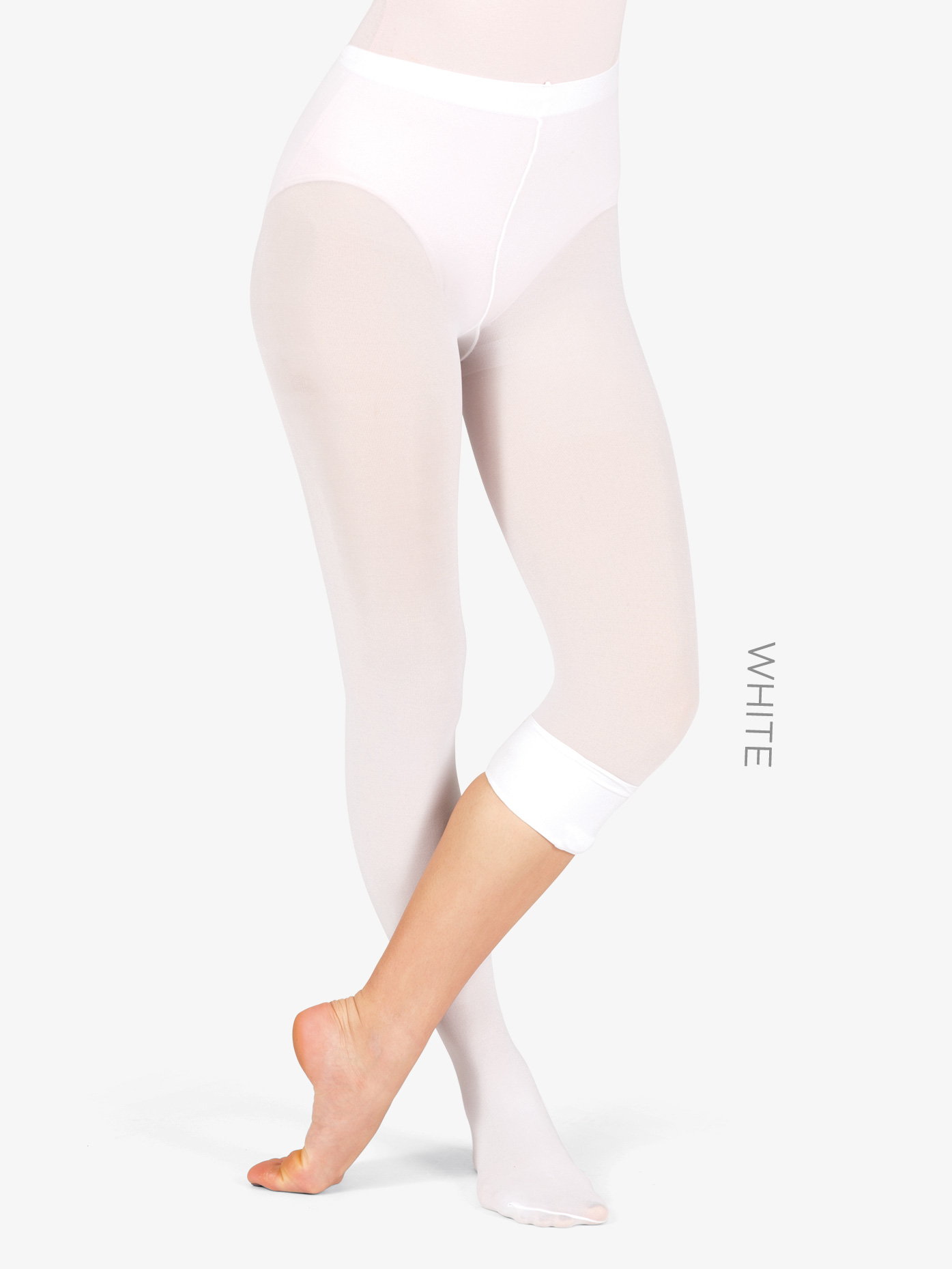 Theatricals Adult Plus Size Convertible Tights with Smooth Self-Knit Waistband T5515P