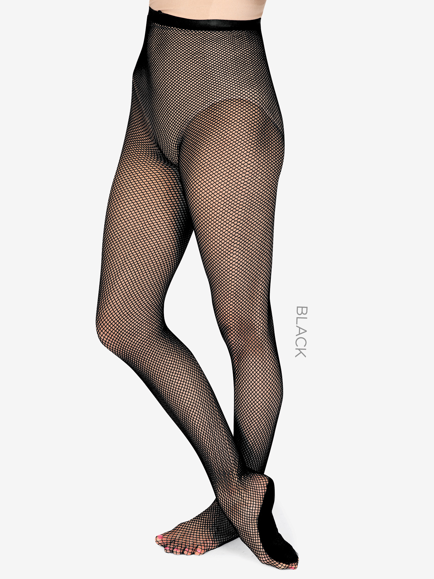 Theatricals Adult Professional Footed Fishnet Tights T6000