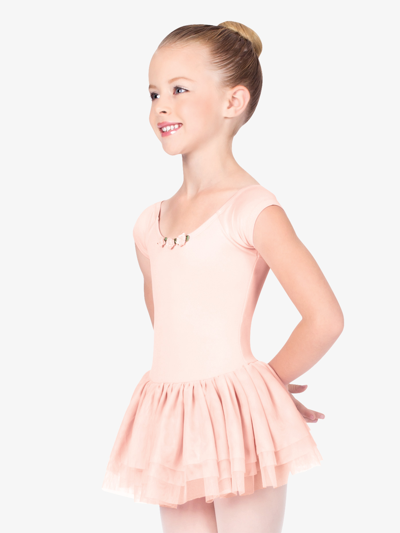 Theatricals Child Short Sleeve Dance Dress TH5105C