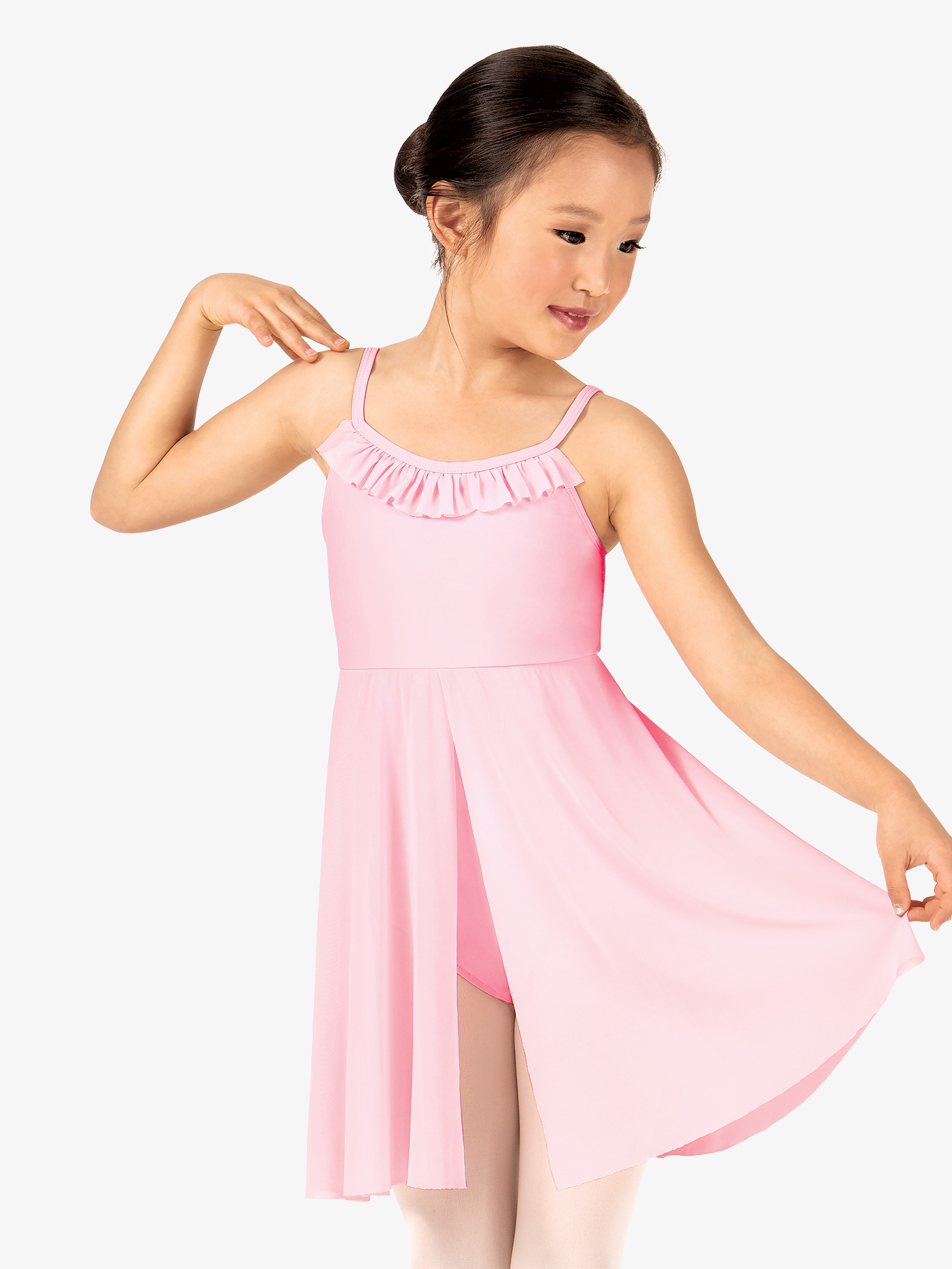 Theatricals Girls Ruffle Camisole Dance Dress TH5120C