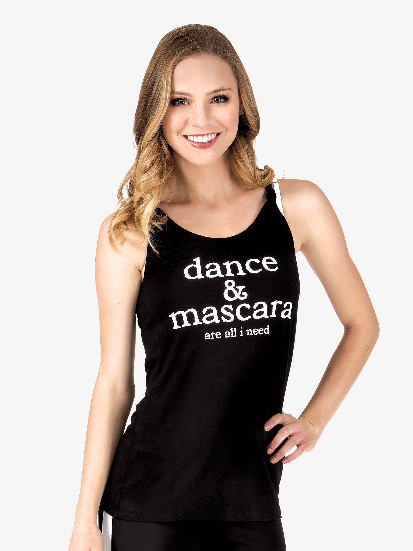 Trendy Trends Adult Dance Mascara Knot Back Camisole Top TT124DM