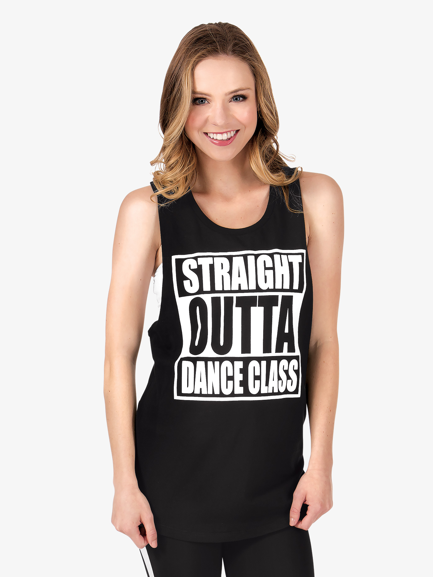 Trendy Trends Adult Straight Outta Dance Class Tank Top TT544