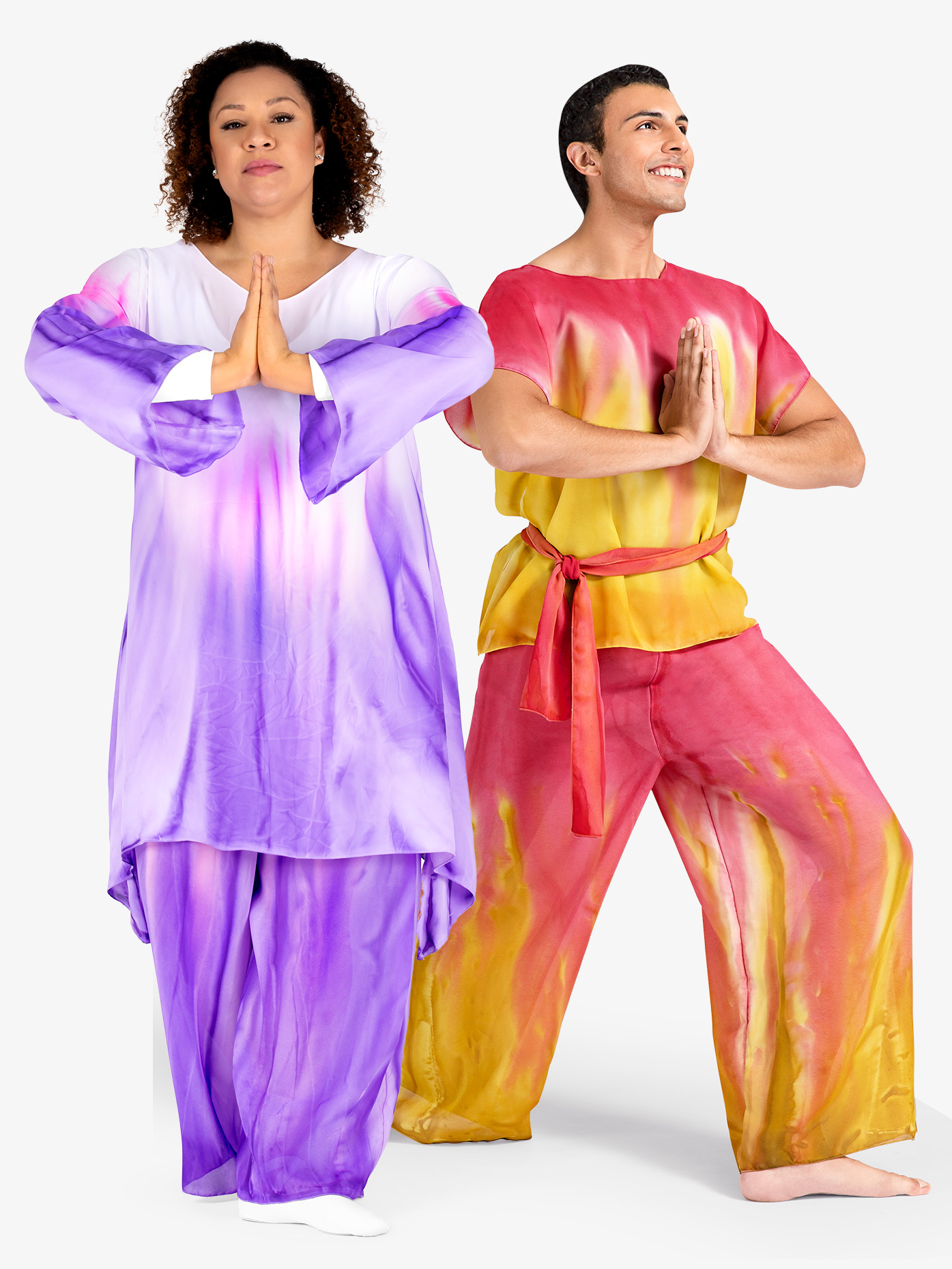 Watercolour Adult Unisex Plus Size Worship Palazzo Pants WC100P