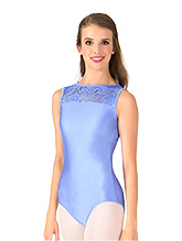 Adult Emballe Lace Boatneck Tank Leotard - Style No N7264 eb434a5bc