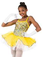 32803877f16bb Girls Ombre Sequin Camisole Performance Tutu Dress - Style No N7445C