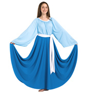 Girls Single Layer Worship Circle Skirt