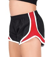 Girls Two-Toned Running Shorts