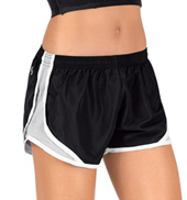 Womens Two-Toned Running Shorts