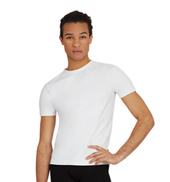Mens Fitted Tactel Crew Neck T-Shirt
