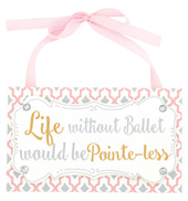 Ballet Hanging Plaque