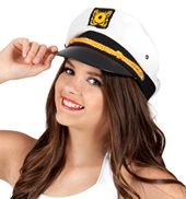 24-Pack Sailor Captain Hats