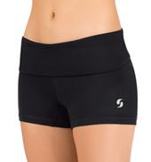Girls Foldover Running Shorts