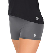 Womens Foldover Running Shorts