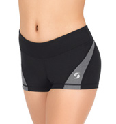 Girls Colorblock Running Shorts