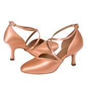 Ladies Smooth Ballroom Shoes