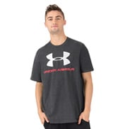 Mens Short Sleeve Logo Fitness Tee