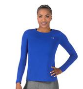 Womens Long Sleeve HeatGear Fitness Tee