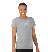 Womens Logo Short Sleeve Fitness Tee