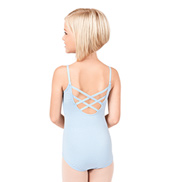 Child Trestle Back Camisole Leotard