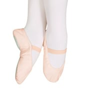 Child Star Split Canvas Split-Sole Ballet Slippers
