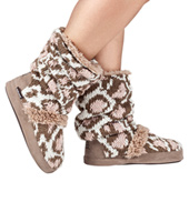 Adult Jenna Pink Leopard Ankle Boots