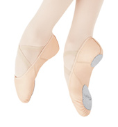 Adult Juliet Leather Split-Sole Ballet Slippers