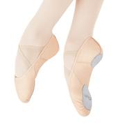 Girls Juliet Leather Split Sole Ballet Shoes