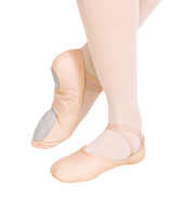 Adult Juliet Canvas Split-Sole Ballet Slippers