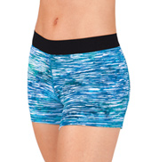 Adult Elastic Waistband Sublimated Shorts