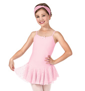 Girls Hologram Dot Camisole Dress