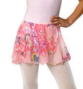 Girls Butterfly Pull-On Skirt