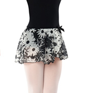 Girls Daisy Pull-On Skirt