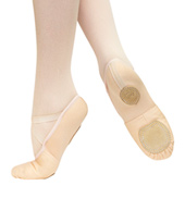 Adult Synergy Split Sole Canvas/Jersey Ballet Slipper