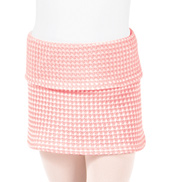 Girls Thermal Knit Warm Up Skirt