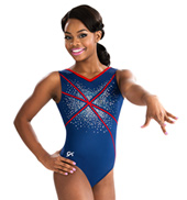 Girls Sequinz Fireworks Tank Leotard