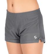 Girls Micro Mesh Gym Shorts