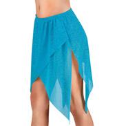 Adult Sparkly Mesh Handkerchief Skirt