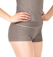 Adult Dot & Stripes V-Waist Warmup Shorts