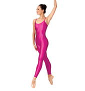 Adult Nylon Pinch Front Camisole Unitard