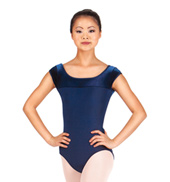 Adult Two-Tone Cap Sleeve Leotard