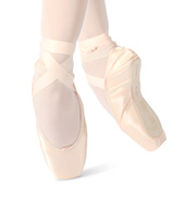 Womens Adagio Satin Pointe Shoes