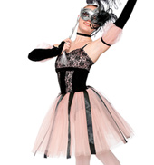 Girls Music Box Dancer Costume