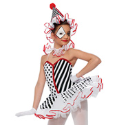 Girls Send In The Clowns Costume