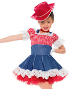 Girls Party In The USA Costume