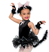 Girls Black Cat Costume
