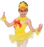 Girls Quack Quack Duck Costume