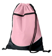 Tri-Color Drawstring Dance Bag